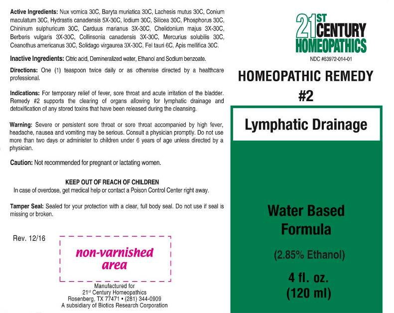 2 Lymphatic Drainage - 21st Century Homeopathics, Inc