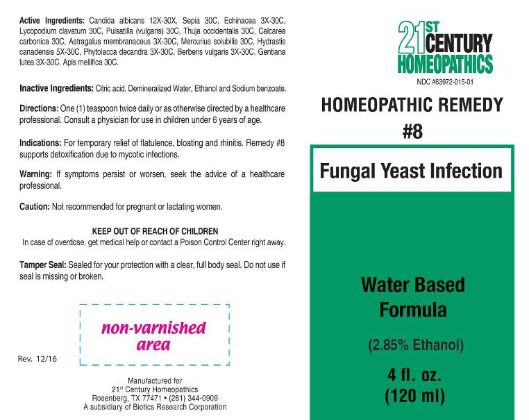 8 Fungal Yeast Infection - 21st Century Homeopathics, Inc