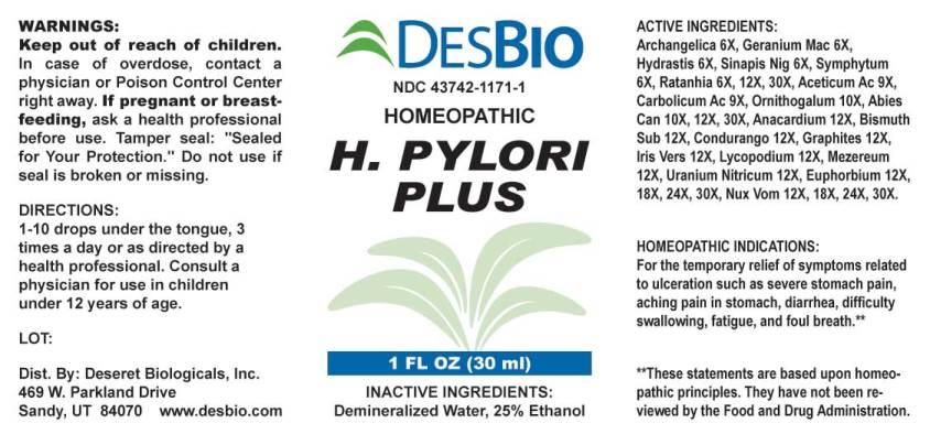 H Pylori Plus Deseret Biologicals Inc Package Insert