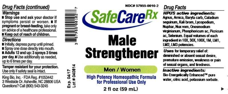 Male Strengthener - King Bio Inc : Package Insert